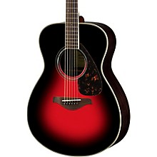 FS830 Small Body Acoustic Guitar Dusk Sun Red