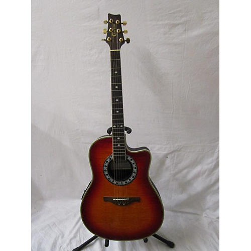 used crafter guitars fsg280eq acoustic electric guitar cherry sunburst guitar center. Black Bedroom Furniture Sets. Home Design Ideas