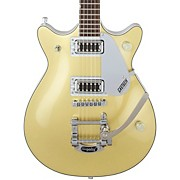 FSR G5245T Electromatic Jet FT with Bigsby Electric Guitar Two-Tone Casino Gold/Snowcrest White