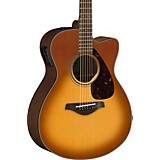 Yamaha FSX800C Small Body Acoustic-Electric Guitar Sand Burst