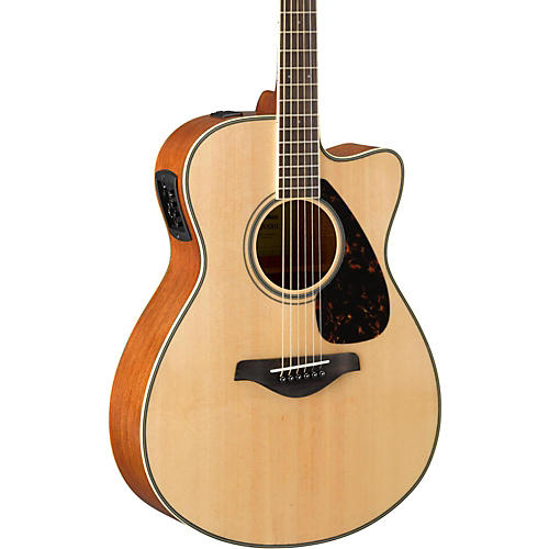 yamaha fsx820c small body acoustic electric guitar natural guitar center. Black Bedroom Furniture Sets. Home Design Ideas