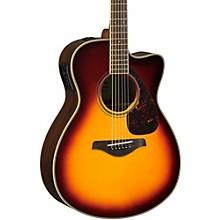 FSX830C Acoustic-Electric Guitar Brown Sunburst