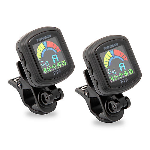 Fishman FT-E Clip-On Tuner 2-Pack