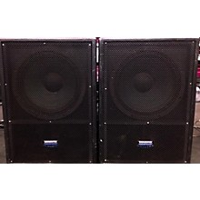 Mackie FUSSION 1800SA/1800S ACTIVE-PASSIVE SUBWOOFER SYSTEM Powered Subwoofer