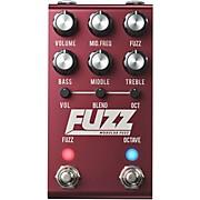FUZZ Modular Fuzz Effects Pedal Red