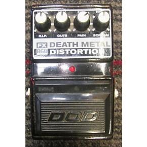 used dod fx death metal distortion effect pedal guitar center. Black Bedroom Furniture Sets. Home Design Ideas