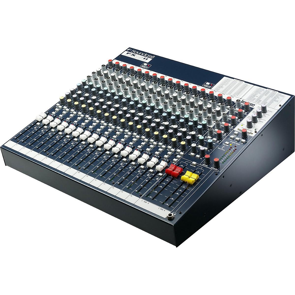 Soundcraft FX16ii Mixer