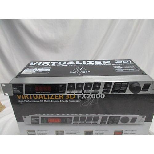Behringer FX2000 Multi Effects Processor