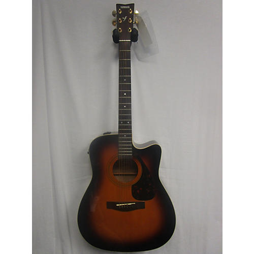 used yamaha fx335c acoustic electric guitar 2 color sunburst guitar center. Black Bedroom Furniture Sets. Home Design Ideas
