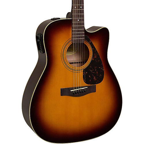 yamaha fx335c dreadnought acoustic electric guitar tobacco sunburst guitar center. Black Bedroom Furniture Sets. Home Design Ideas