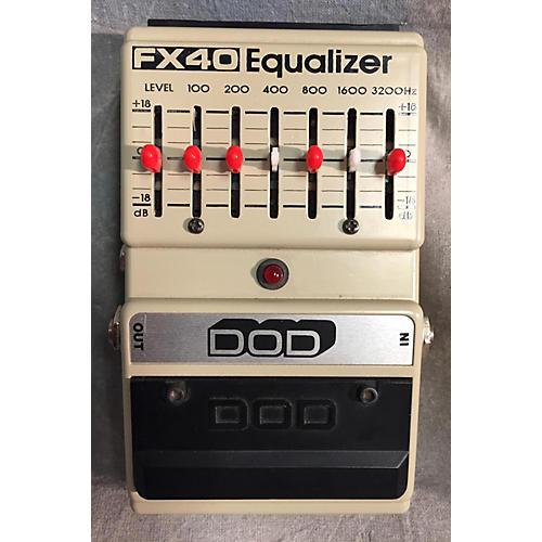 DOD FX40 Pedal