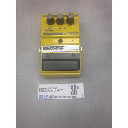 DOD FX50-B OVERDRIVE PLUS Effect Pedal