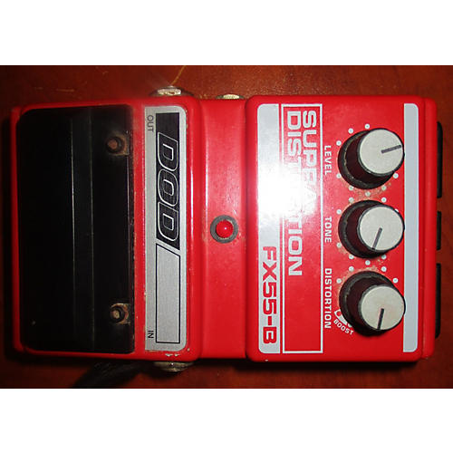 DOD FX55 Supra Distortion Effect Pedal