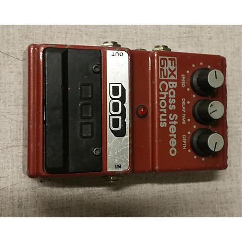 DOD FX62 BASS STEREO CHORUS Effect Pedal