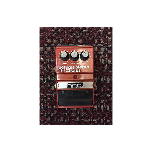 In Store Used FX62 BOSS STEREO CHORUS BURNT ORANGE Bass Effect Pedal