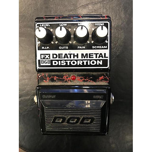 used dod fx86 death metal effect pedal guitar center. Black Bedroom Furniture Sets. Home Design Ideas