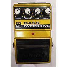 DOD FX91 Bass Overdrive Bass Effect Pedal