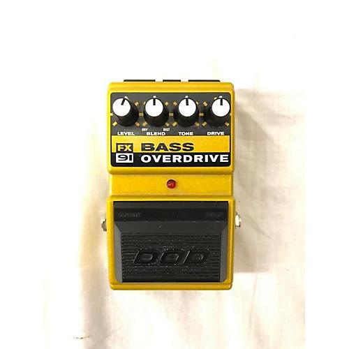DOD FX91 Bass Overdrive Effect Pedal