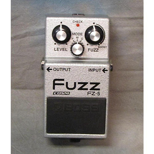 Boss FZ5 Fuzz Silver Effect Pedal