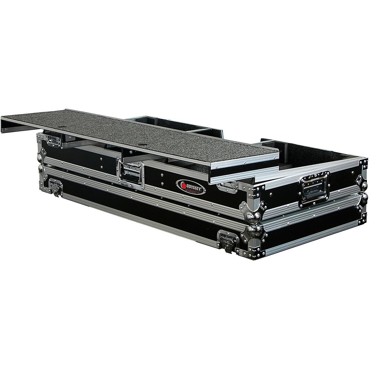 Odyssey FZGSPDJ12W Universal Turntable DJ Coffin with Wheels