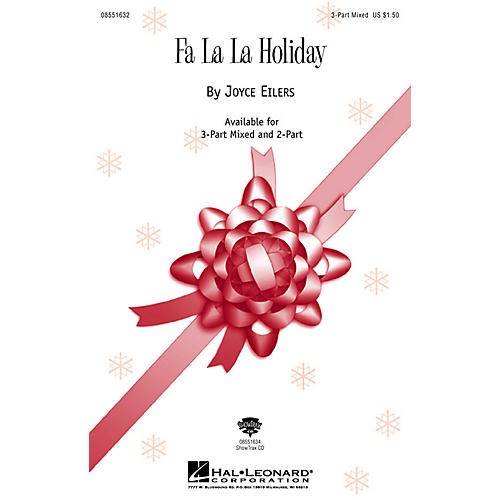 Hal Leonard Fa La La Holiday ShowTrax CD Composed by Joyce Eilers