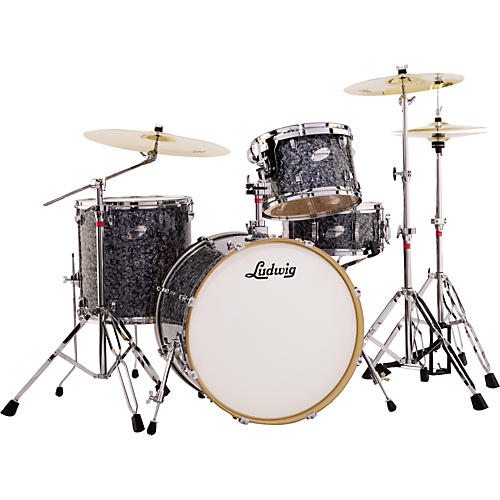 af001d0b5bfd Ludwig Fab 4 Accent Series 4-Piece Drum Set with Hardware