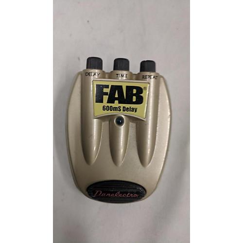 Danelectro Fab Delay Effect Pedal