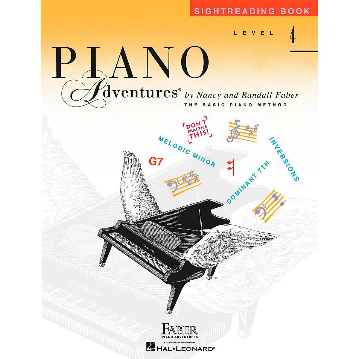 Faber Piano Adventures Faber Piano Adventures Level 4 - Sightreading Book