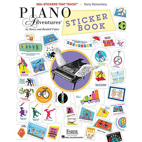 Faber Piano Adventures Faber Piano Adventures Sticker Book