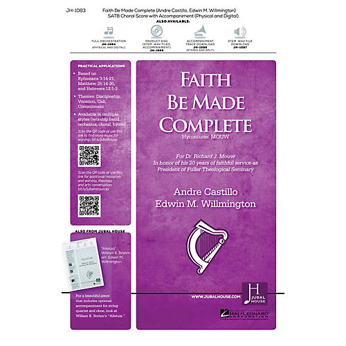 Jubal House Publications Faith Be Made Complete Accompaniment CD Composed by Edwin Willmington