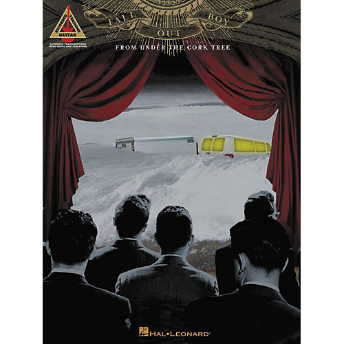 Hal Leonard Fall Out Boy From Under the Cork Tree Guitar Tab Songbook