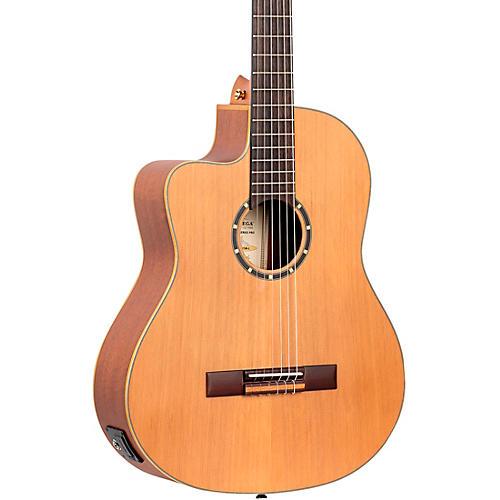 Ortega Family Series Pro RCE131SN-L Acoustic Electric Slim Neck Classical Guitar