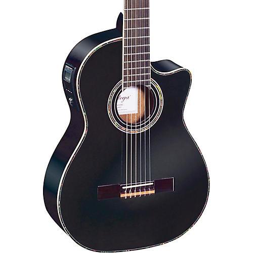 Ortega Family Series Pro RCE141BK Acoustic-Electric Nylon Guitar