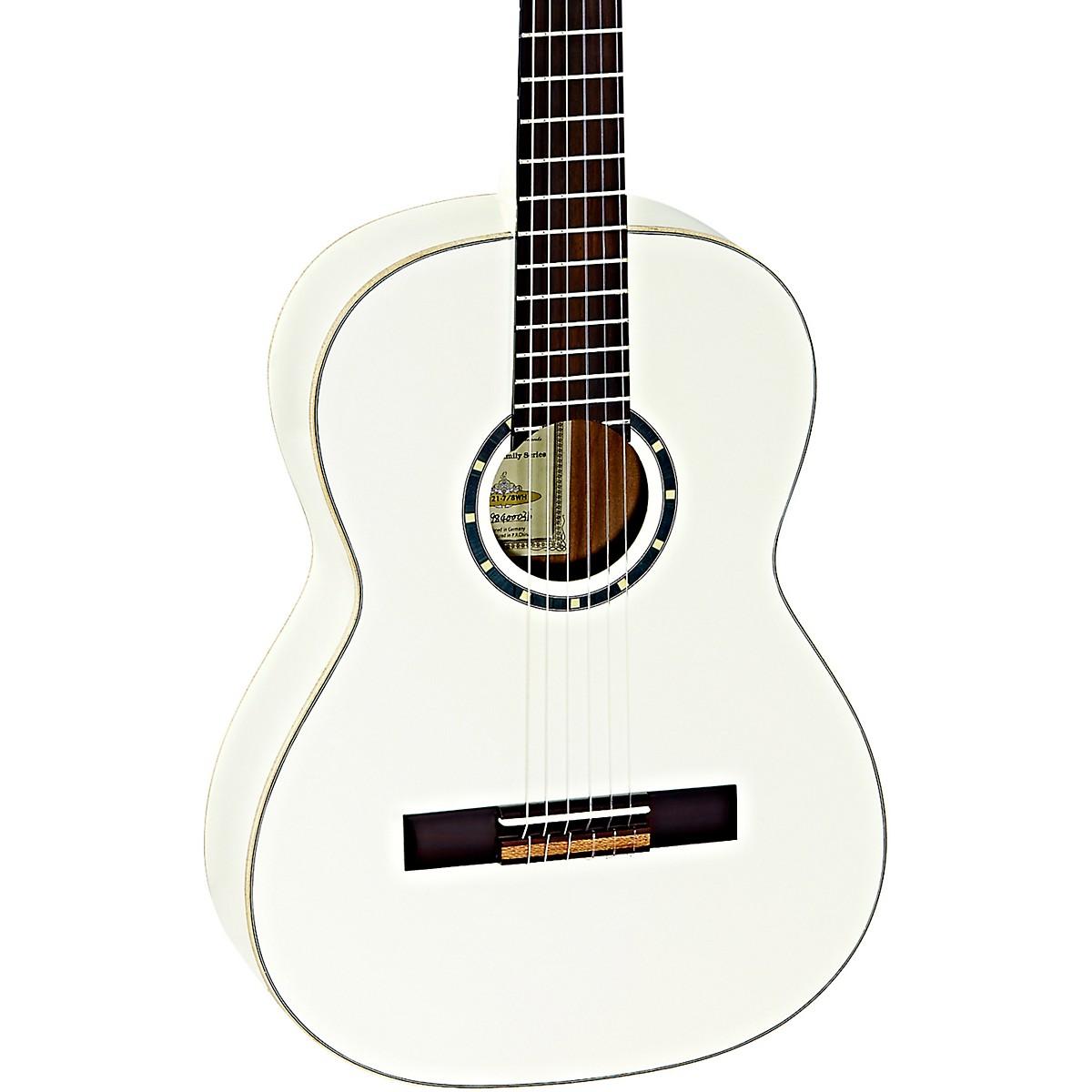 Ortega Family Series R121-7/8WH 7/8 Size Classical Guitar