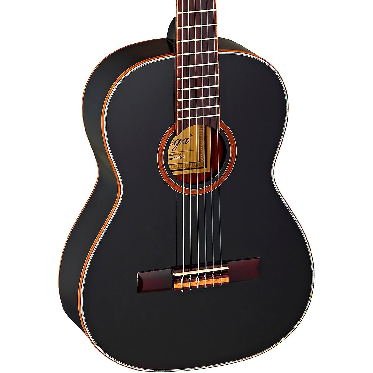 Ortega Family Series R221BK-7/8 7/8 Size Classical Guitar