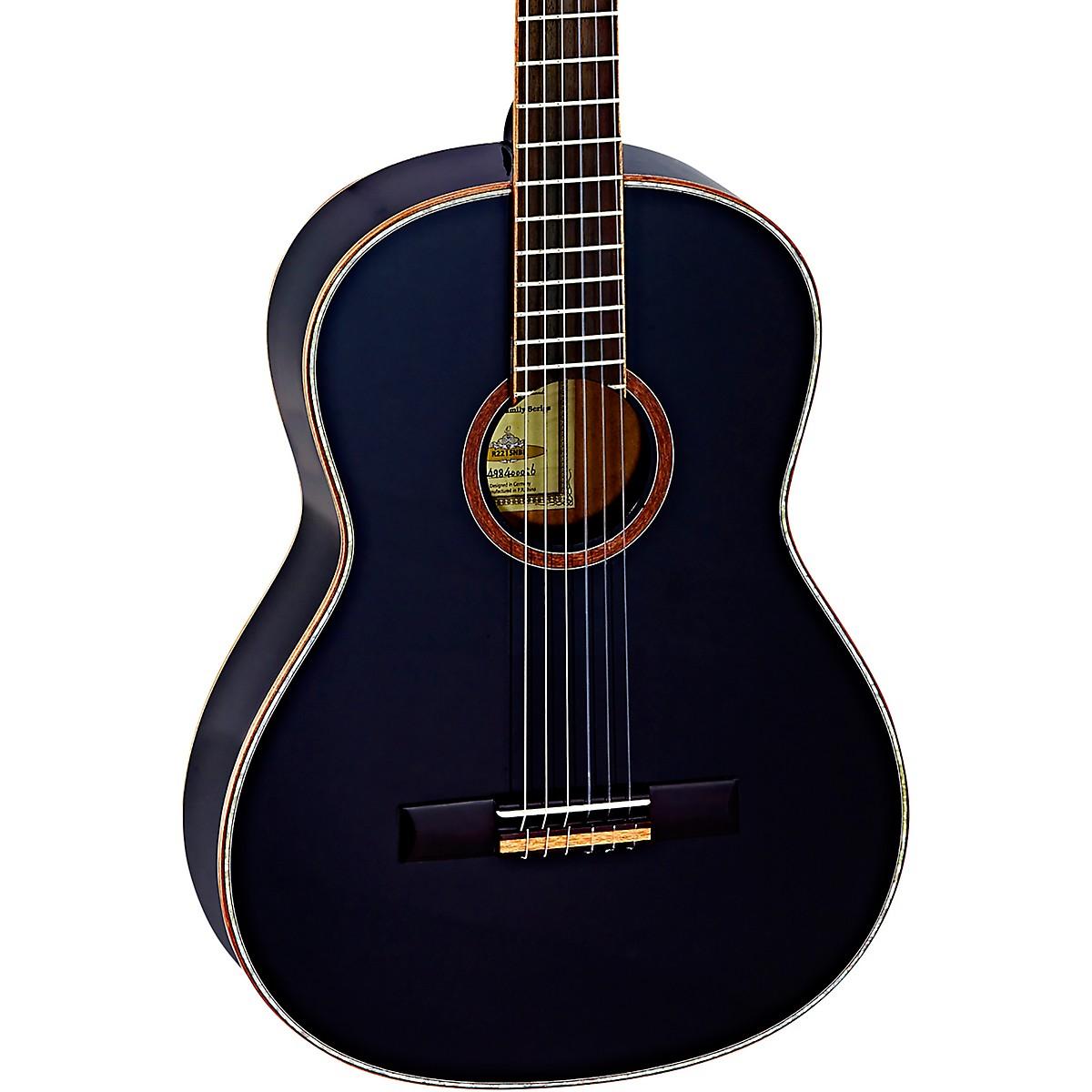 Ortega Family Series R221SNBK Slim Neck Classical Guitar