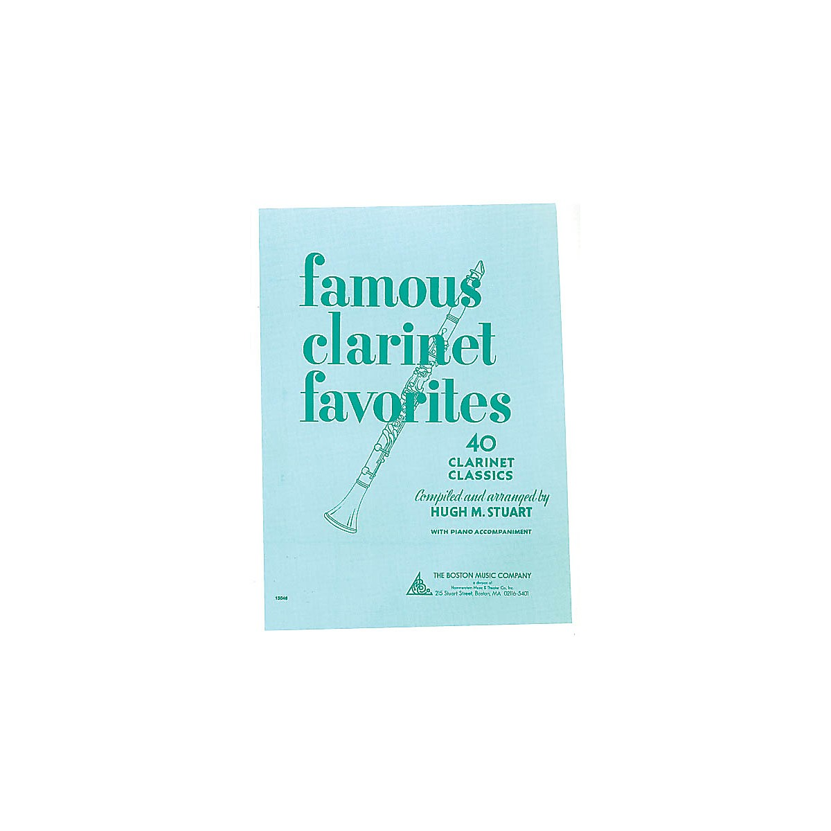 Boston Music Famous Clarinet Favorites (40 Clarinet Classics) Music Sales America Series