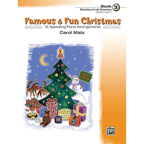 Alfred Famous & Fun Christmas Book 3