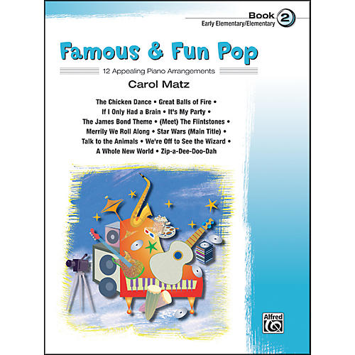 Alfred Famous & Fun Pop Book 2
