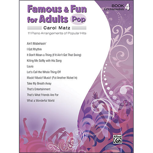 Alfred Famous & Fun for Adults Pop Book 4 Piano