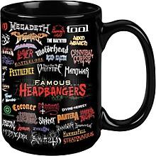 Taboo Famous Headbangers Black Mug 15 oz