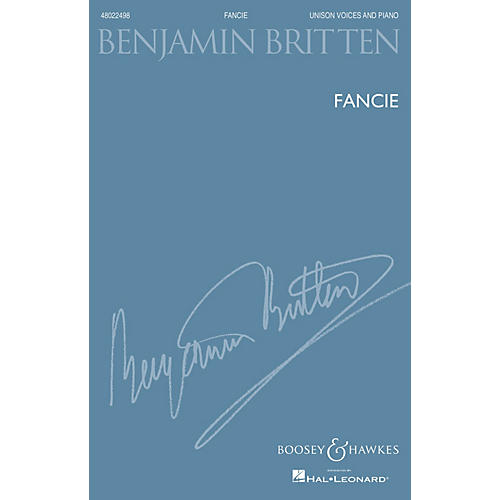 Boosey and Hawkes Fancie (Unison Voices And Piano New Edition) UNIS composed by Benjamin Britten