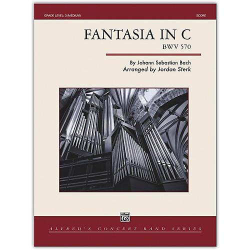 Alfred Fantasia in C Conductor Score 3 (Medium)