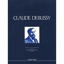 Editions Durand Fantasie pour piano et orchestre 2nd ver Critical Ed Full Sc Hardbound by Debussy Edited by Marty