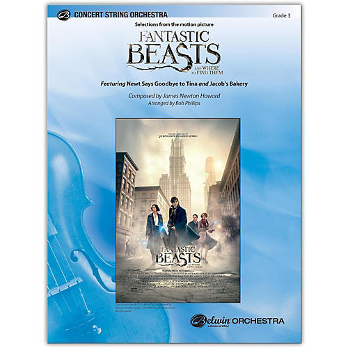 BELWIN Fantastic Beasts and Where to Find Them 3