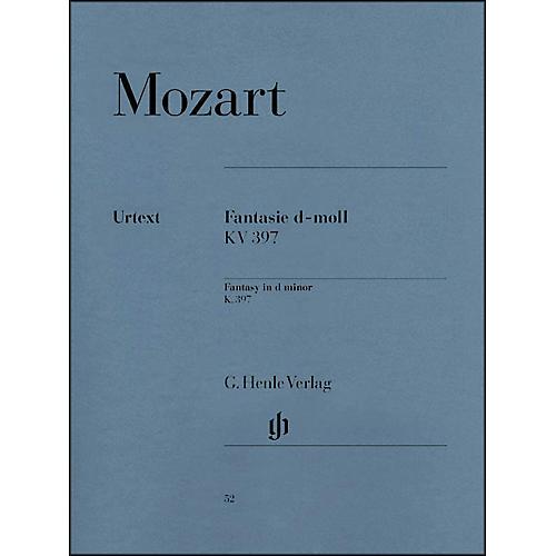 G. Henle Verlag Fantasy D Minor K397 (385G) By Mozart