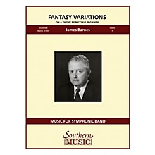 Southern Fantasy Variations on a Theme of Paganini Concert Band Level 5 Composed by James Barnes