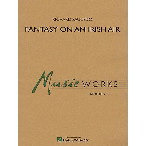 Hal Leonard Fantasy on an Irish Air Concert Band Level 2 Arranged by Richard L. Saucedo