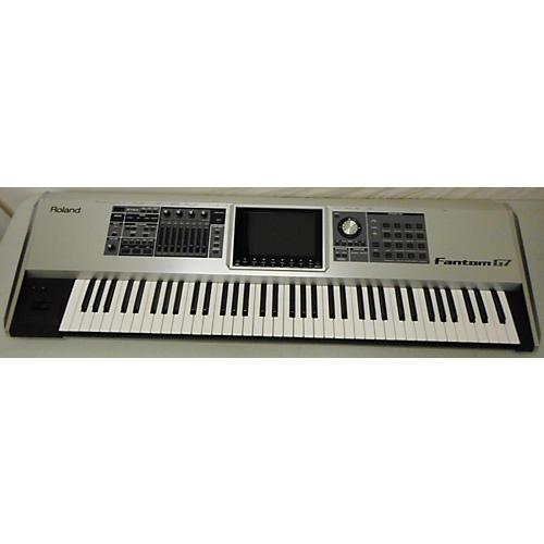 used roland fantom g7 76 key keyboard workstation guitar center. Black Bedroom Furniture Sets. Home Design Ideas