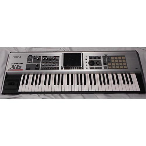 used roland fantom x6 keyboard workstation guitar center. Black Bedroom Furniture Sets. Home Design Ideas